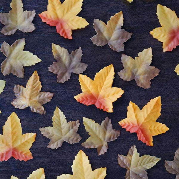 500 Fall Maple Leaf Petals