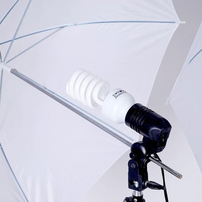 Photography Photo Portrait Studio 400W Day Light Umbrella Continuous Lighting Kit