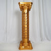 "41"" Tall Gold Venetian Artistic Roman Wedding Decorative Columns - 4PCS/Set"