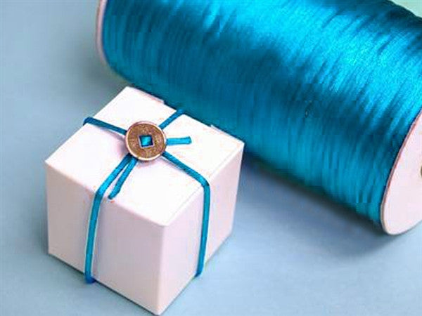 2mm Rattail 200yd-Turquoise