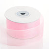 "1.5"" x 25 Yards Sheer Organza Ribbon - Pink"