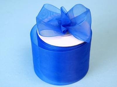 "2 3/4"" Organza Ribbon-Royal"