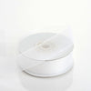 "7/8"" x 25 Yards Sheer Organza Ribbon - White"