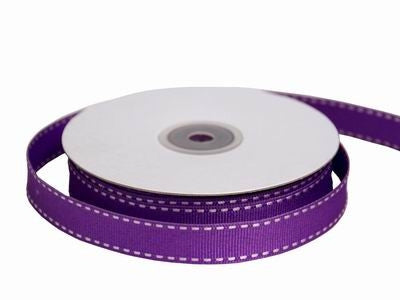"5/8"" Stitched-Purple"