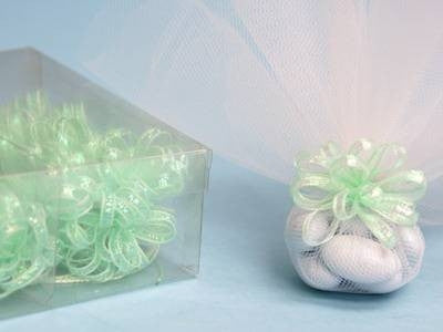 Ribbon Bow-Mint-36/order