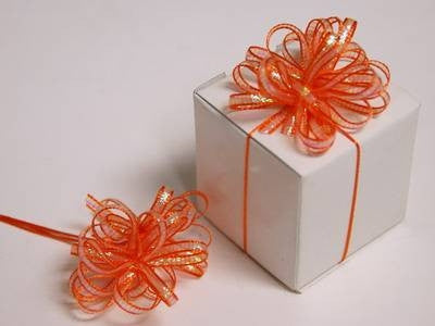 Ribbon Bow-Orange-36/order