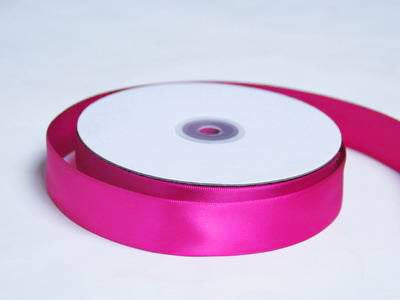 "1"" Satin Ribbon-Fushia"