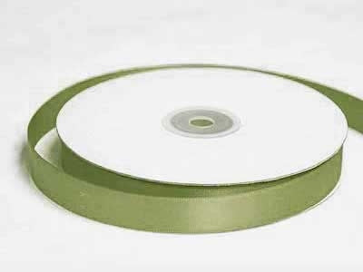 "5/8"" Satin Ribbon - Moss/Willow"