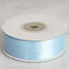 "1/8"" x 100 Yards Solid Satin Ribbon - Baby Blue"