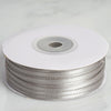 "1/8"" x 100 Yards Solid Satin Ribbon - Silver"