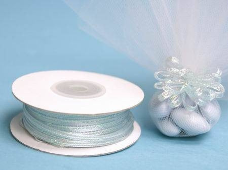 "1/8"" Pull Ribbon-Baby Blue"
