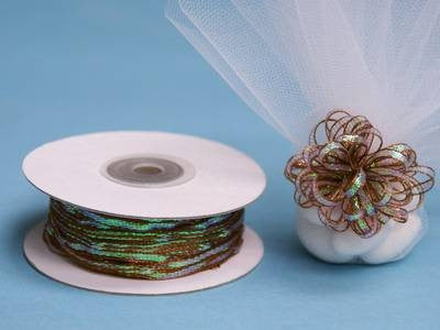 "1/8"" Pull Ribbon-Chocolate"