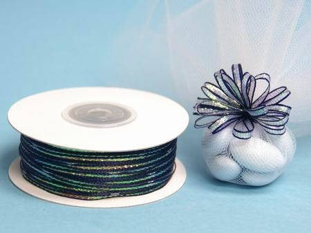 "1/8"" Pull Ribbon-Navy Blue"