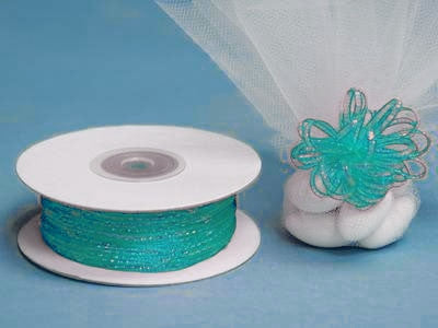"1/8"" Pull Ribbon-Turquoise"