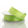 "7/8"" x 10 Yards Wired Satin Ribbon - Apple Green"