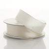 "7/8"" x 10 Yards Wired Satin Ribbon - Ivory"