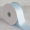 "2"" x 50 Yards Solid Satin Ribbon - Light Blue"