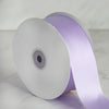 "2"" x 50 Yards Solid Satin Ribbon - Lavender"