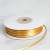 "1/16"" x 100 Yards Solid Satin Ribbon - Gold"