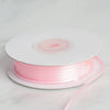 "1/16"" x 100 Yards Solid Satin Ribbon - Pink"