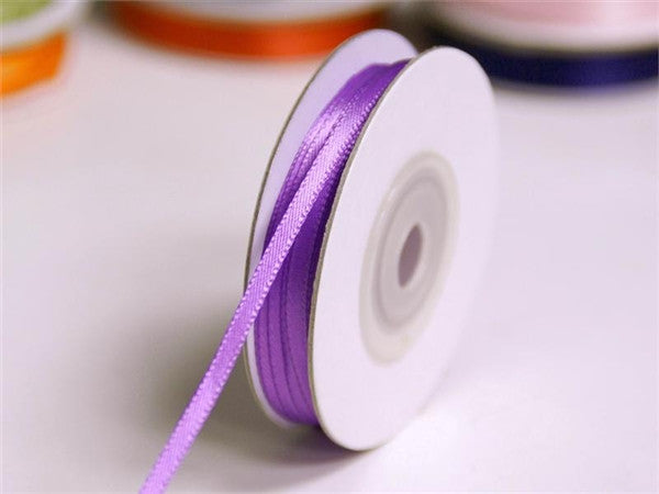 "100 Yards 1/16"" DIY Purple Single Face Satin Ribbon Wedding Party Dress Favor Gift Craft"
