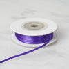 "1/16"" x 100 Yards Solid Satin Ribbon - Purple"