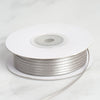 "1/16"" x 100 Yards Solid Satin Ribbon - Silver"