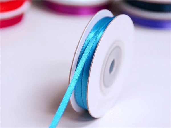 "100 Yards 1/16"" DIY Turquoise Single Face Satin Ribbon Wedding Party Dress Favor Gift Craft"