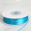 "1/16"" x 100 Yards Solid Satin Ribbon - Turquoise"