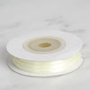 "1/16"" x 100 Yards Solid Satin Ribbon - Yellow"