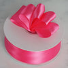 "1.5"" x 50 Yards Solid Satin Ribbon - Fuchsia"