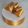 "1.5"" x 50 Yards Solid Satin Ribbon - Gold"