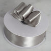"1.5"" x 50 Yards Solid Satin Ribbon - Silver"