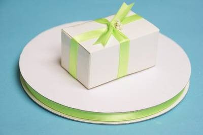 "3/8"" Satin Ribbon-Apple Green"
