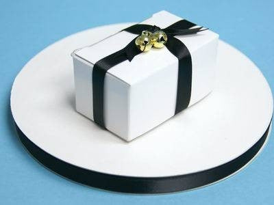 "3/8"" Satin Ribbon-Black"