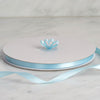 "3/8"" x 100 Yards Solid Satin Ribbon - Light Blue"