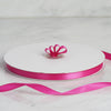 "3/8"" x 100 Yards Solid Satin Ribbon - Fuchsia"