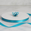 "3/8"" x 100 Yards Solid Satin Ribbon - Turquoise"