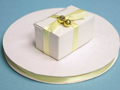 "3/8"" Satin Ribbon-Yellow"