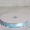 "7/8"" x 100 Yards Solid Satin Ribbon - Light Blue"