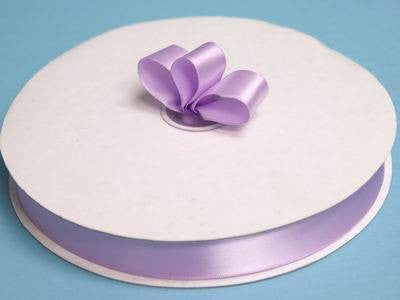 "7/8"" Satin Ribbon-Lavender"