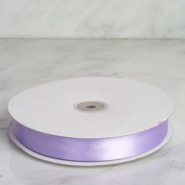 "7/8"" x 100 Yards Solid Satin Ribbon - Lavender"