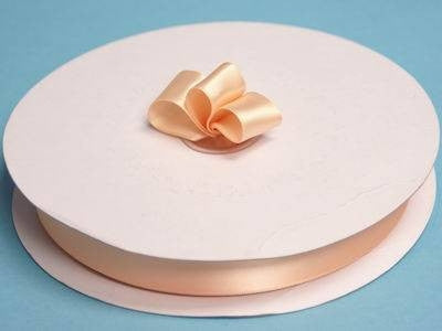 "7/8"" Satin Ribbon-Peach"