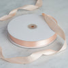 "7/8"" x 100 Yards Solid Satin Ribbon - Peach"