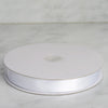 "7/8"" x 100 Yards Solid Satin Ribbon - White"
