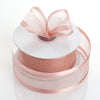 "1.5"" Blush Satin Edge Ribbon - 25 Yards"
