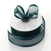 "1.5"" Hunter Green Satin Edge Ribbon - 25 Yards"