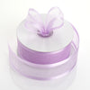 "1.5"" Lavender Satin Edge Ribbon - 25 Yards"