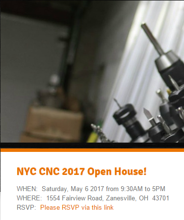Design for Manufacturing Clinic NYCCNC Open House