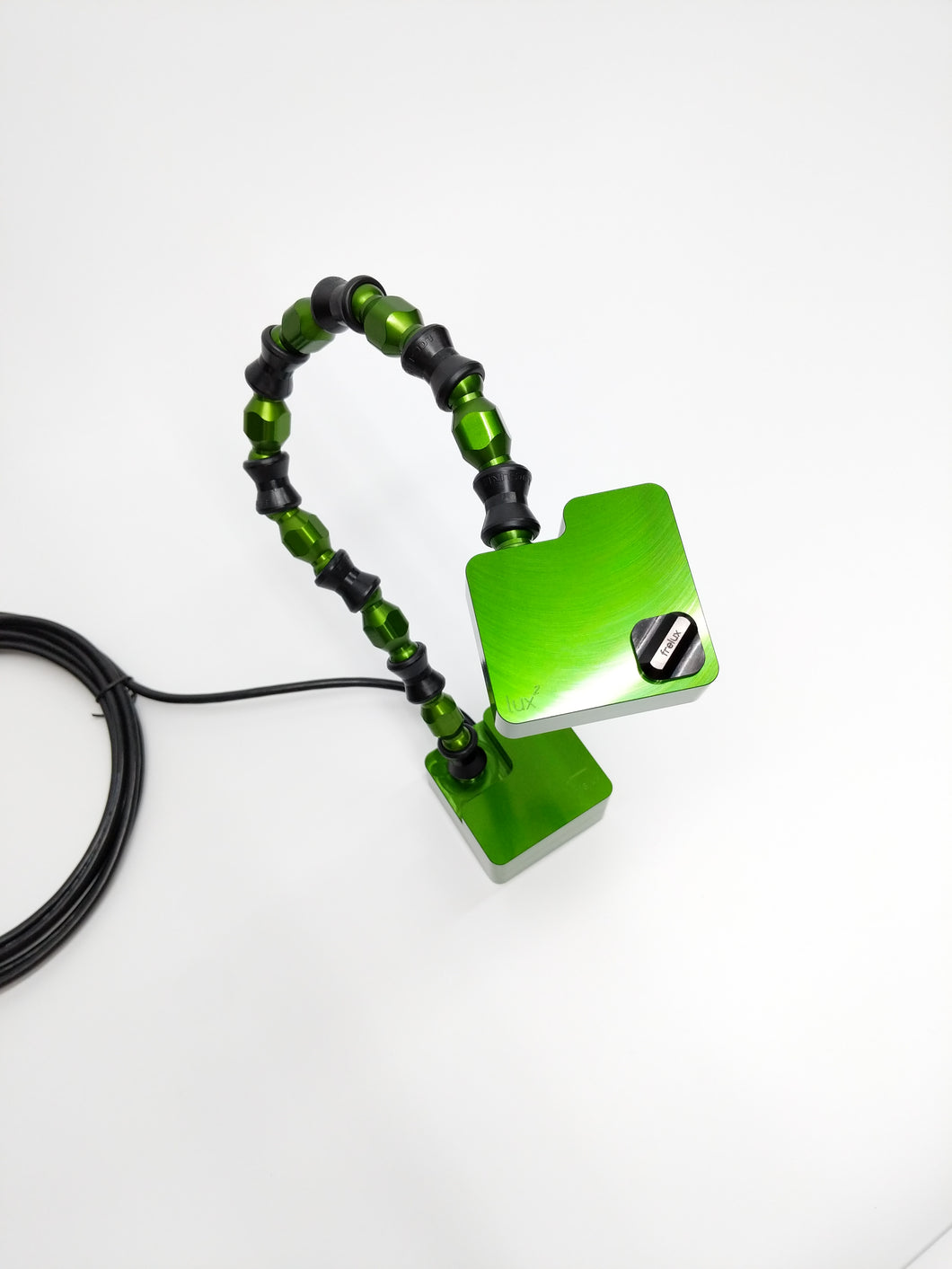 Lux² Lamp w/ Frelux® Link Green Anodized